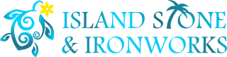 Island Stone and Ironworks Logo